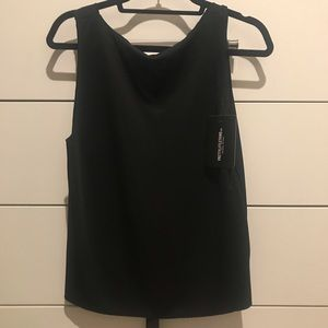 Never worn black backless tank top